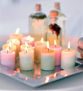 home candles and scents