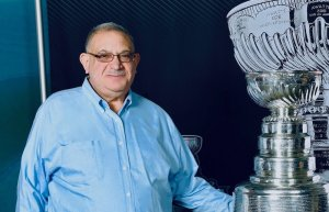 Arnold Zlotnik With 2017 Stanley Cup