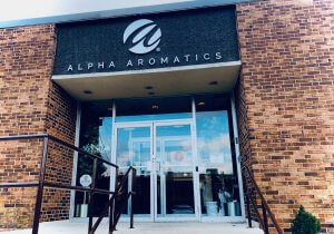Alpha Aromatics Front Entrance