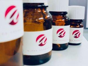 Alpha Aromatics Fragrance Bottles